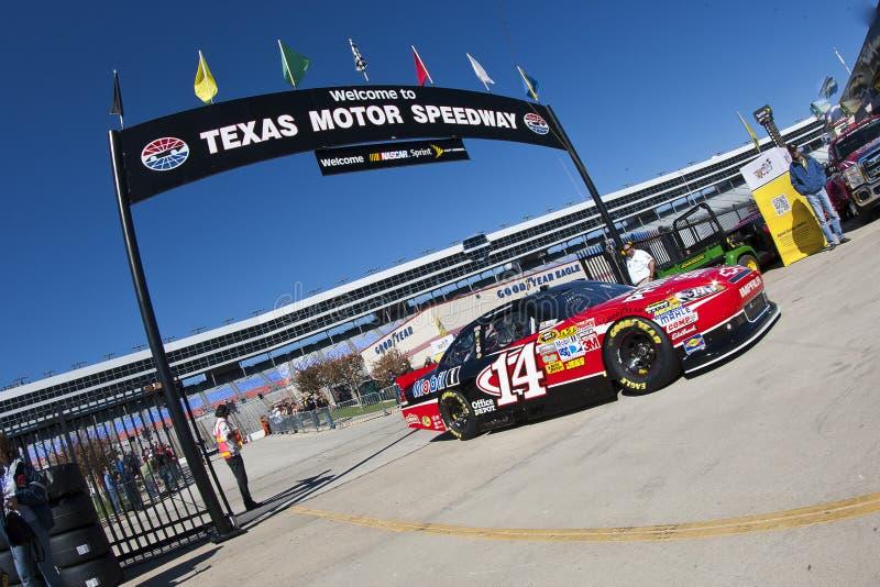 NASCAR: Texas Tony Stewart stock fotografie