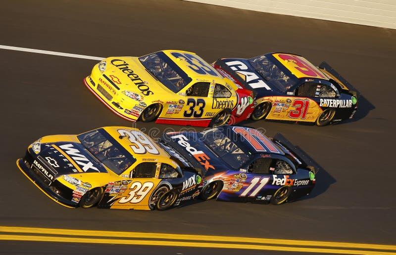 NASCAR: Tiroteio do botão fevereiro de 11 fotos de stock