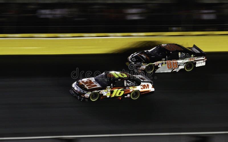 NASCAR - Todas as estrelas Biffle, júnior de Earnhardt foto de stock
