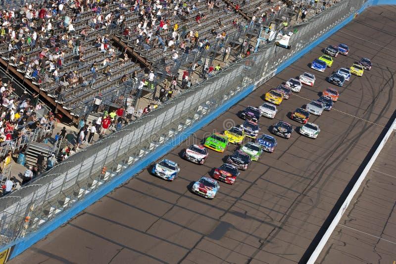 NASCAR: Trabalho capaz 200 do corpo novembro de 14 foto de stock