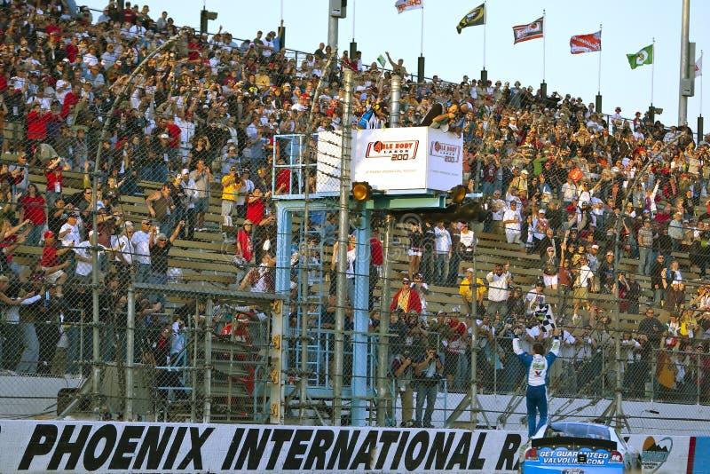 NASCAR: Trabalho capaz 200 do corpo novembro de 14 imagem de stock royalty free