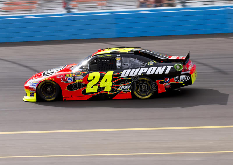 NASCAR Treiber Jeff Gordon stockbilder