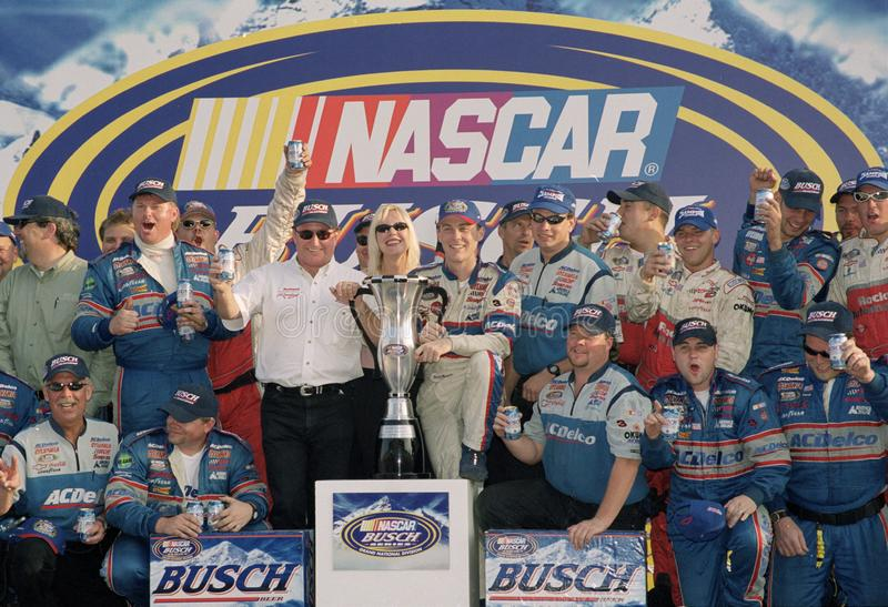NASCAR Treiber Kevin Harvick stockfotografie