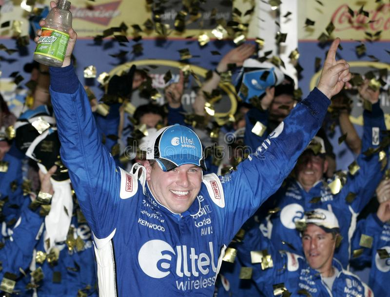 NASCAR Treiber Ryan Newman stockbild