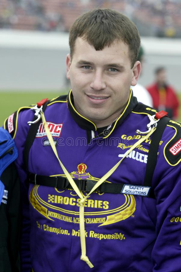 NASCAR Treiber Ryan Newman lizenzfreies stockfoto