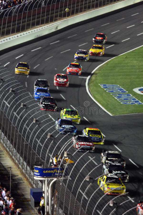 NASCAR - Under Caution royalty free stock images