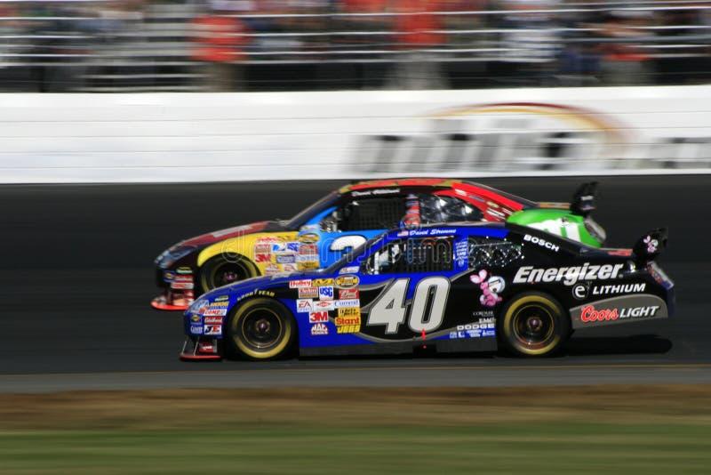 NASCAR - Une question de pouces ! photographie stock