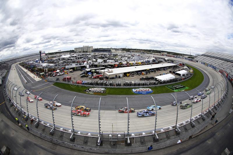 NASCAR: Uso do 30 de setembro seu melão Conduza 200 sóbrios fotos de stock