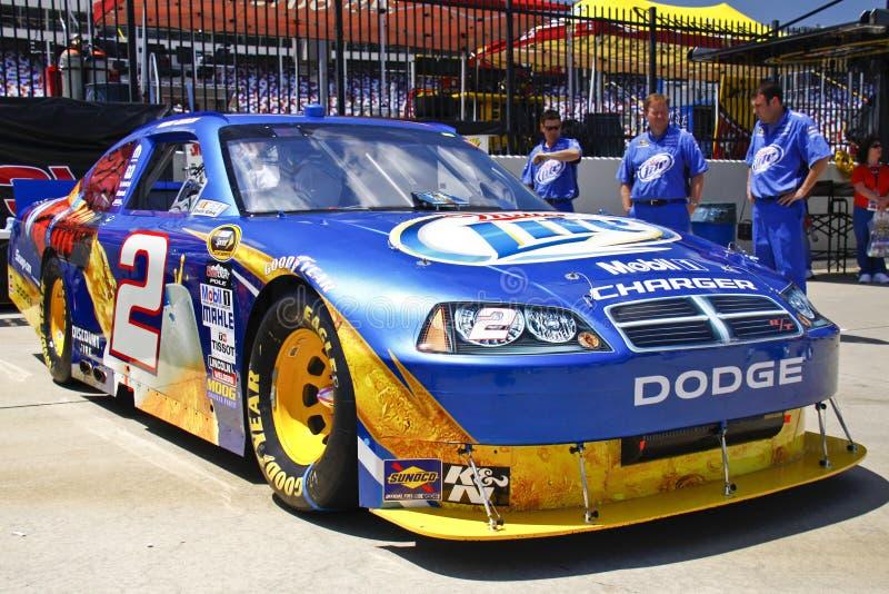 NASCAR - Véhicule de gain du coca-cola 600 - Kurt Busch #2 photographie stock