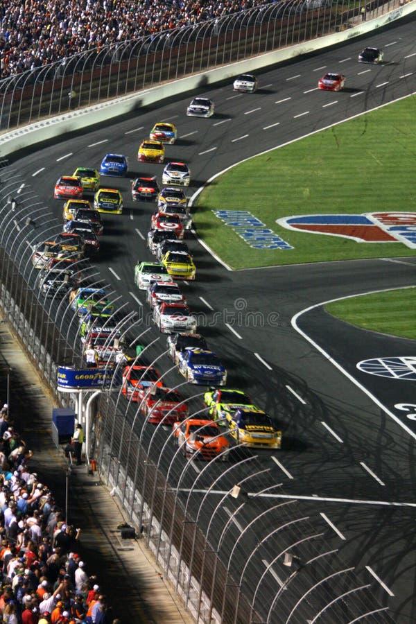 NASCAR - Vai o verde! fotos de stock