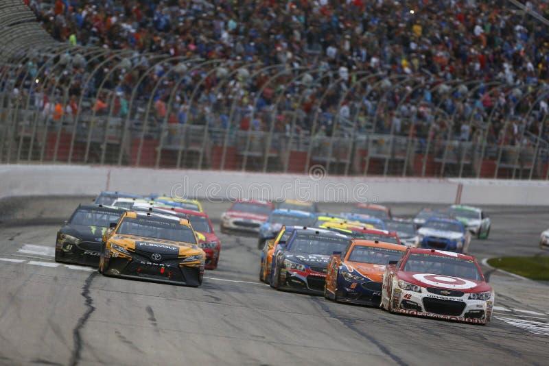 NASCAR: Veck för mars 05 av heder QuikTrip 500 royaltyfri bild