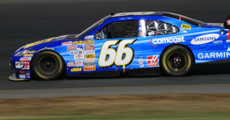 NASCAR - verde de #66 Jeff no NH imagem de stock