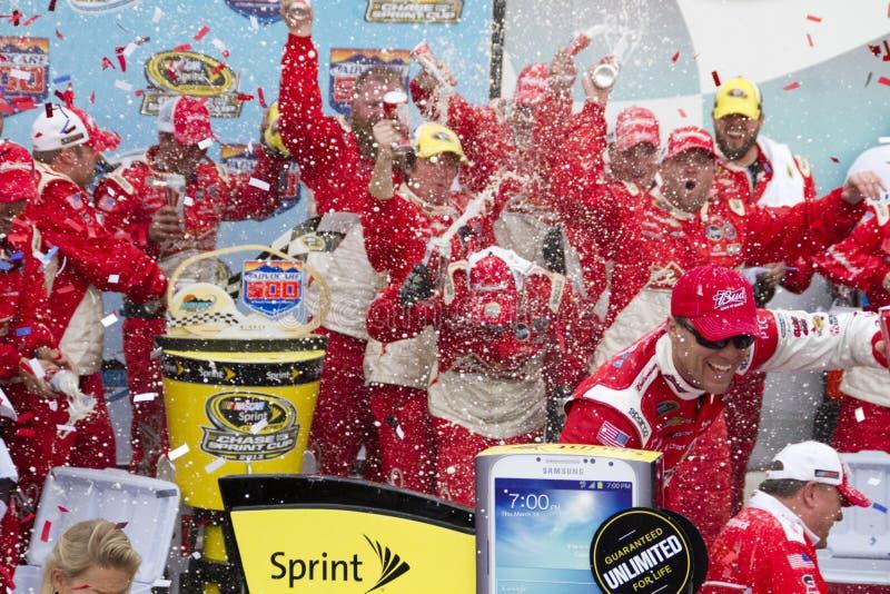 NASCAR Victory Lane en la alcantarilla del International de Phoenix fotos de archivo