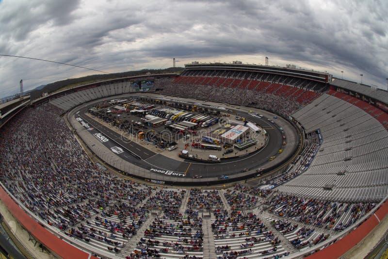 NASCAR : Ville 500 de nourriture du 7 avril images stock