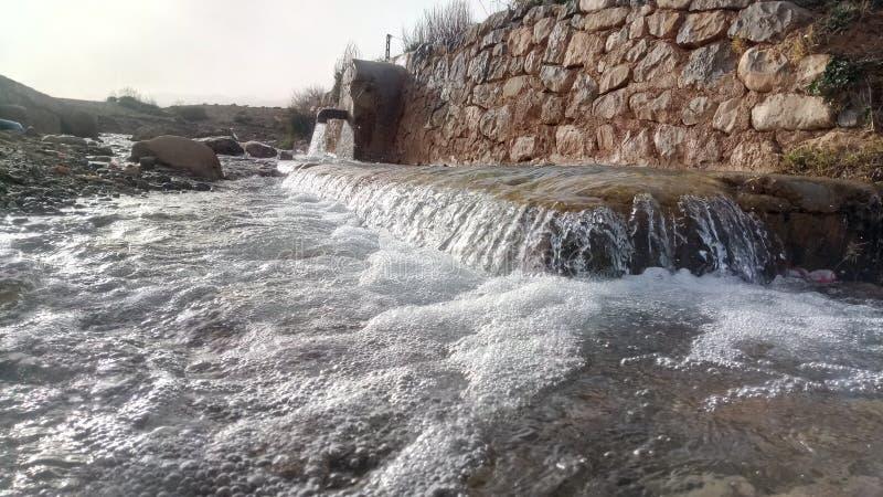 Nascente de água argélia imagens de stock royalty free