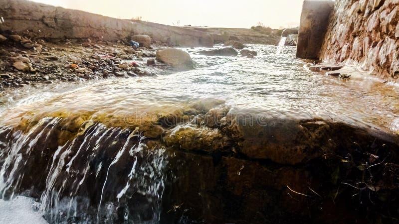 Nascente de água argélia foto de stock royalty free