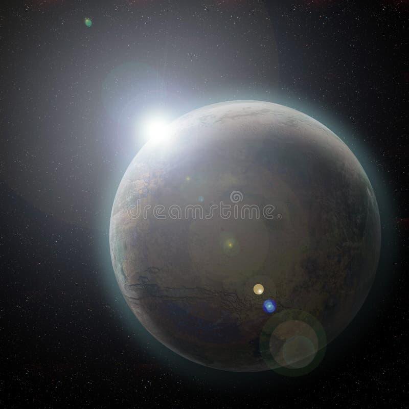 Download Nascer do sol ilustração stock. Ilustração de radiação - 536493