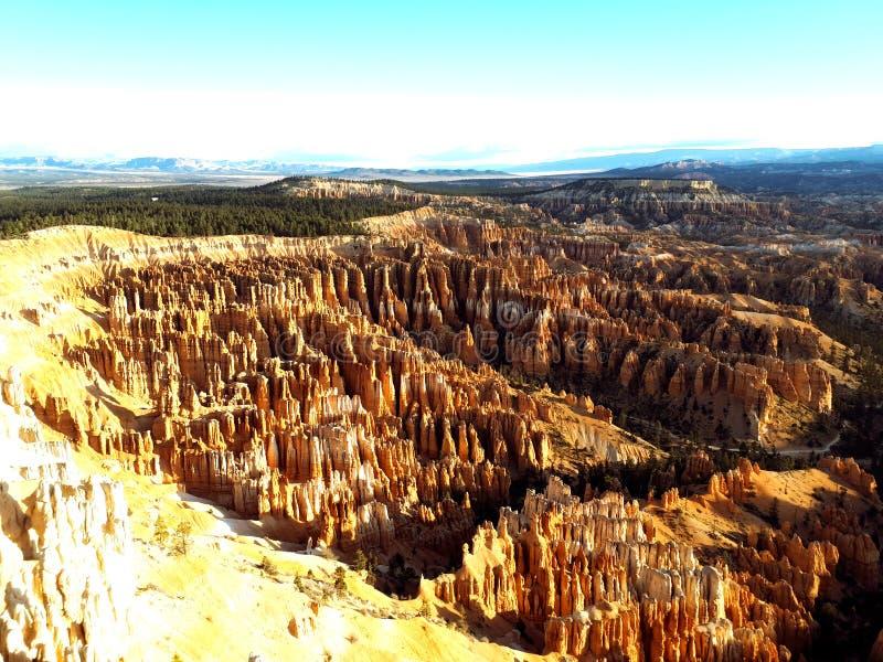 Nascer do sol Bryce Canyon foto de stock royalty free