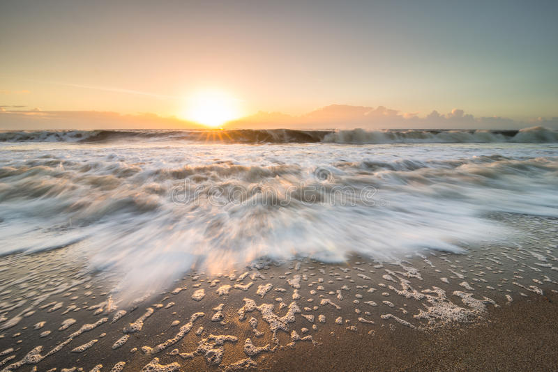 Nascer do sol da ilha de Edisto fotografia de stock royalty free