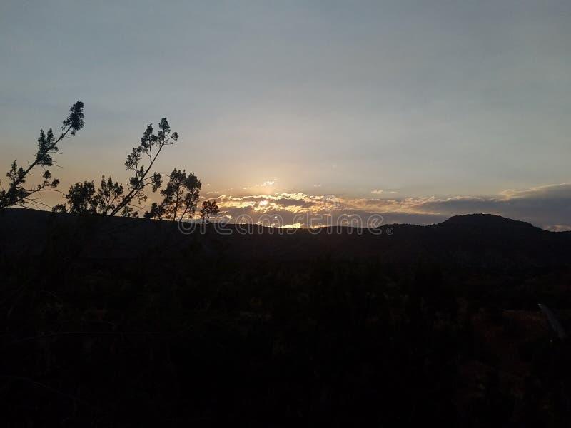 Nascer do sol de Jemez Springs fotografia de stock