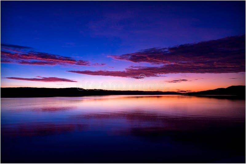 Nascer do sol de Kimberley fotografia de stock