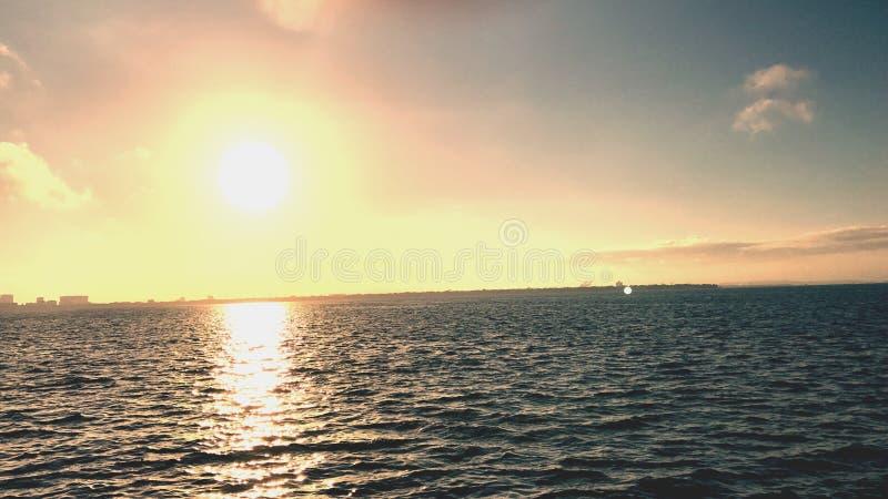 Nascer do sol de Tampa imagem de stock royalty free