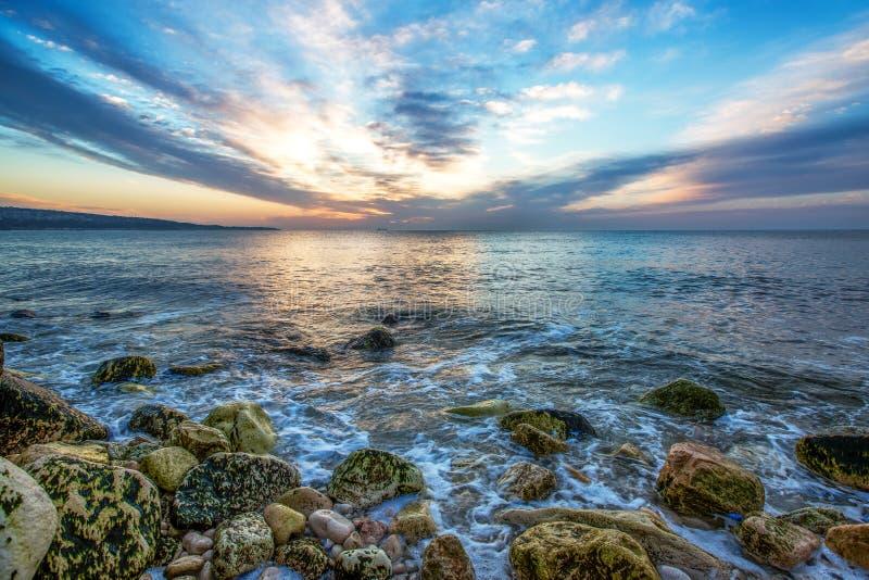 Nascer Do Sol Do Oceano Imagem de Stock Royalty Free