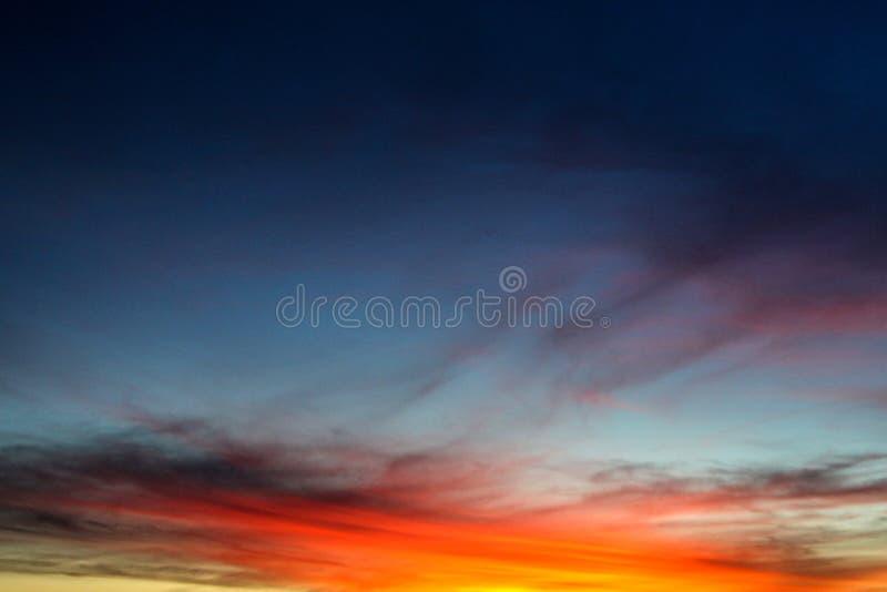 Nascer do sol em Austrália foto de stock