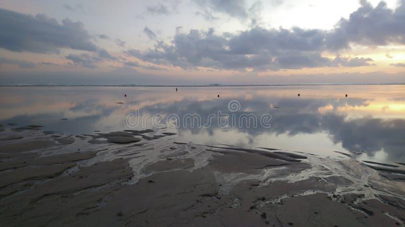 Nascer do sol em Bali foto de stock