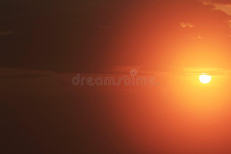 Nascer do sol em Doi Luang Chiang Mai, Tailândia foto de stock
