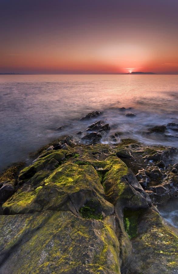 Nascer do sol em Ireland fotografia de stock royalty free
