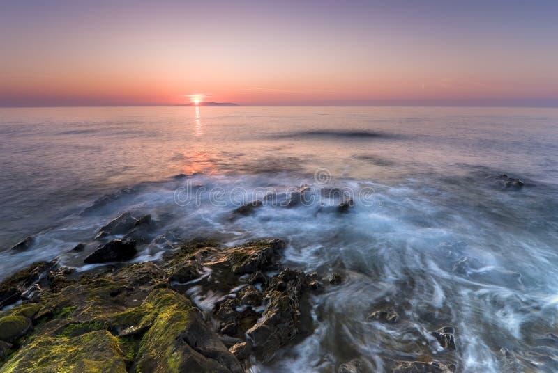 Nascer do sol em Ireland imagens de stock royalty free