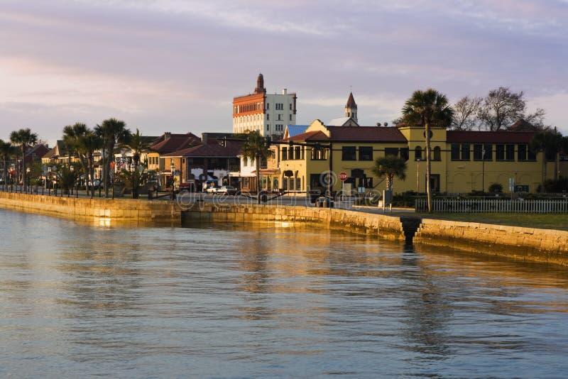 Nascer do sol em St. Augustine fotos de stock royalty free