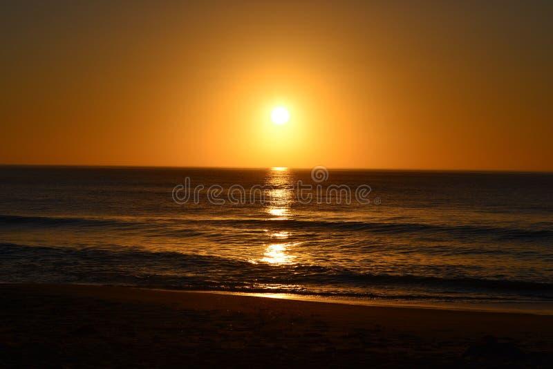 Nascer do sol espetacular fotografia de stock