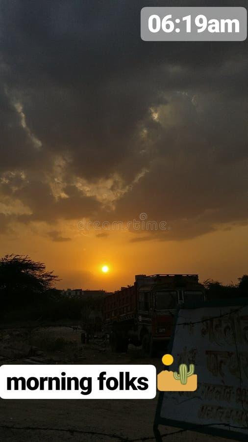 nascer do sol india da manhã fotos de stock