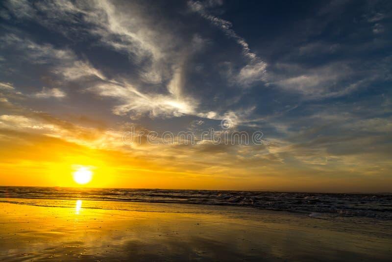 Nascer do sol sobre Amelia foto de stock royalty free