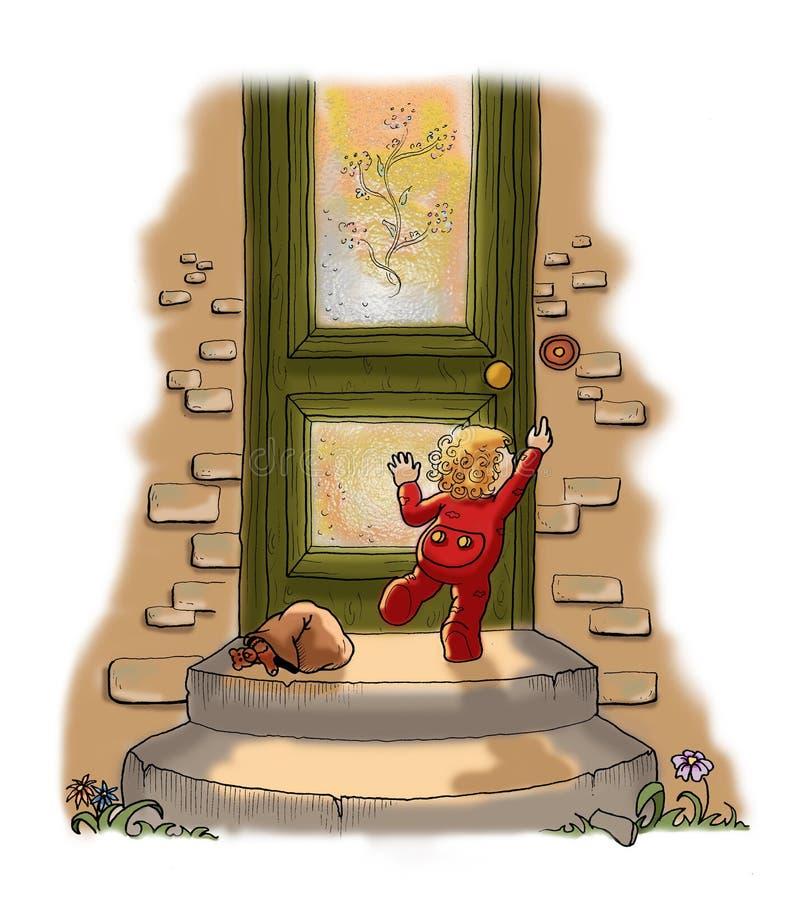 Download Nascimento de uma criança ilustração stock. Ilustração de carregado - 10054390