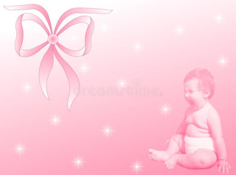 Nascimento fêmea do bebê
