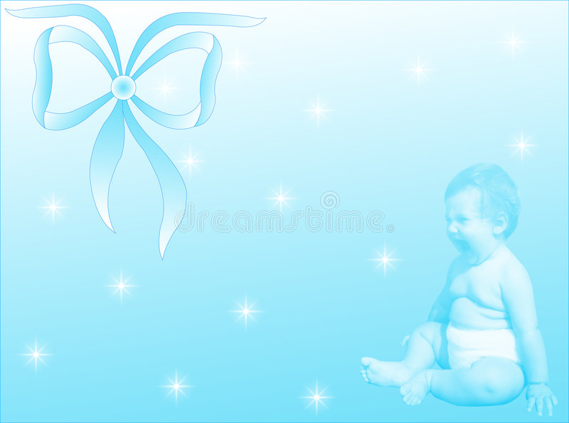Nascimento Masculino Do Bebê Foto de Stock Royalty Free