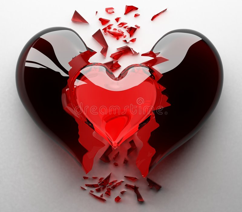 Nascita di nuovo amore illustrazione vettoriale