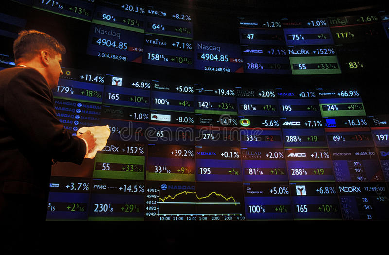 NASDAQ stockfoto