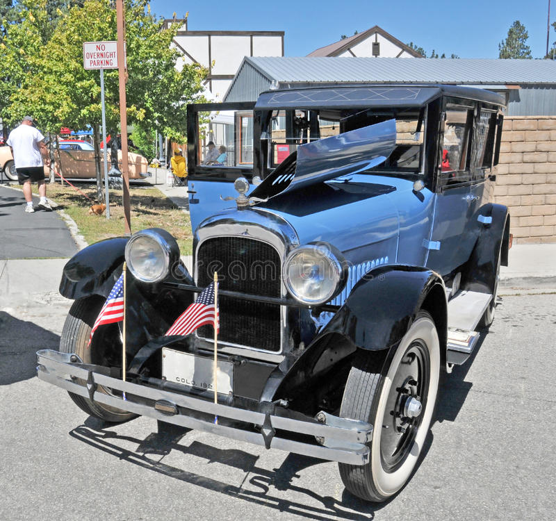 Nash Automobile. This is a restored Nash automobile from the early 1930's at the start of the Great Depression. I'm not certain if whitewall tires would have stock photos