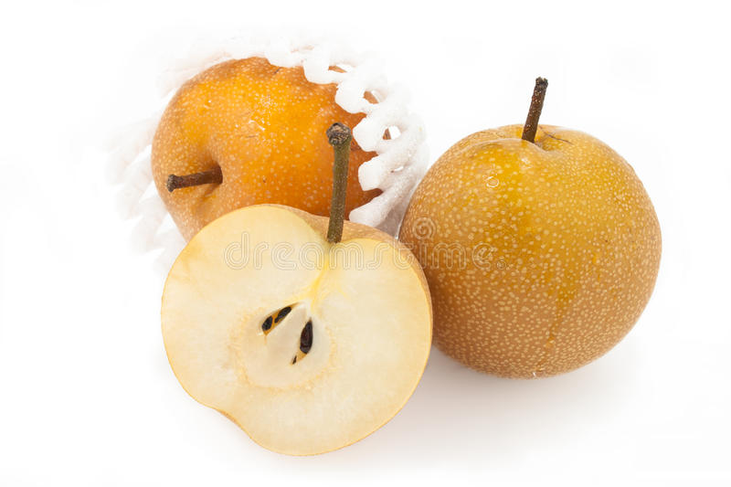 Download Nashi Pears stock photo. Image of pulp, packaging, juicy - 17045400
