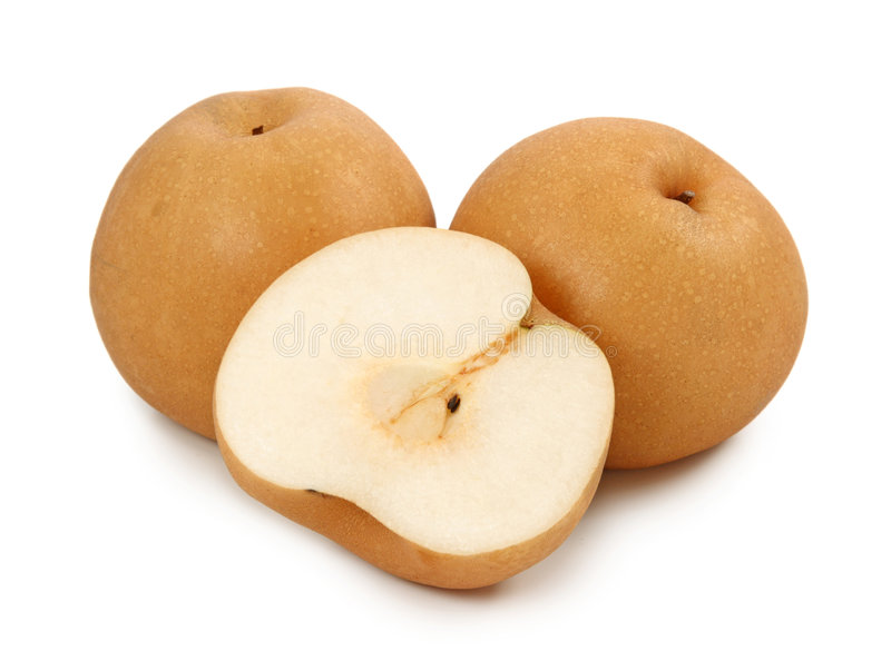 Nashi pears royalty free stock images
