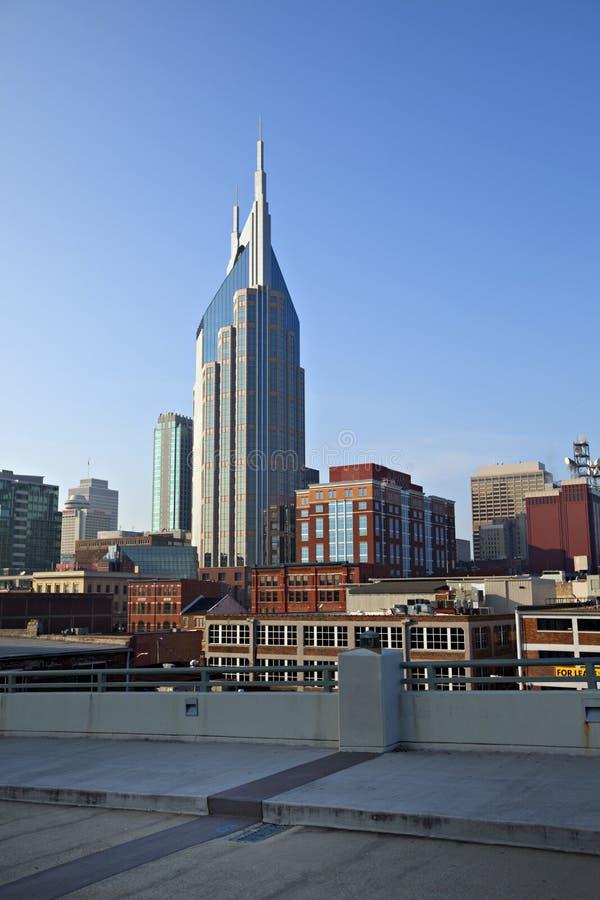 Nashville céntrica, Tennessee fotografía de archivo