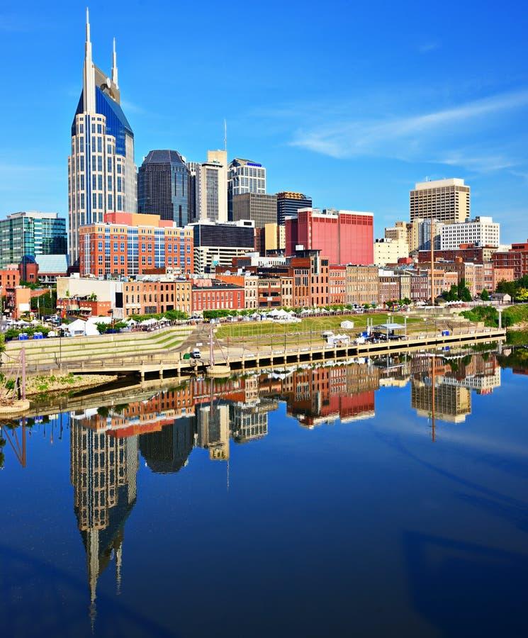 Nashville del centro immagine stock