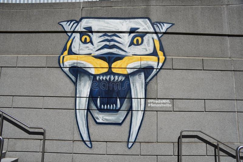 Nashville drapieżników drużyna hokejowa, Nashville, Tennessee zdjęcie stock