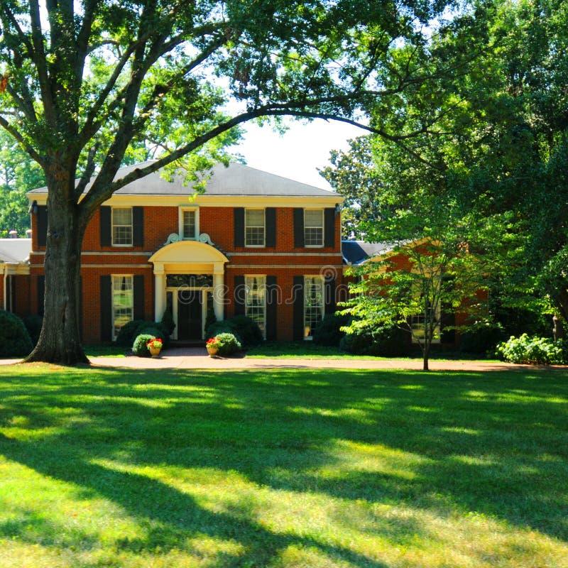 Nashville home luxuoso imagem de stock royalty free
