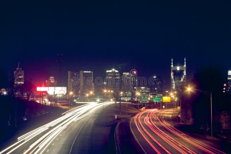 Nashville, horizon image stock