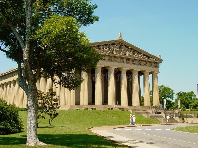Nashville Parthenon fotografia stock